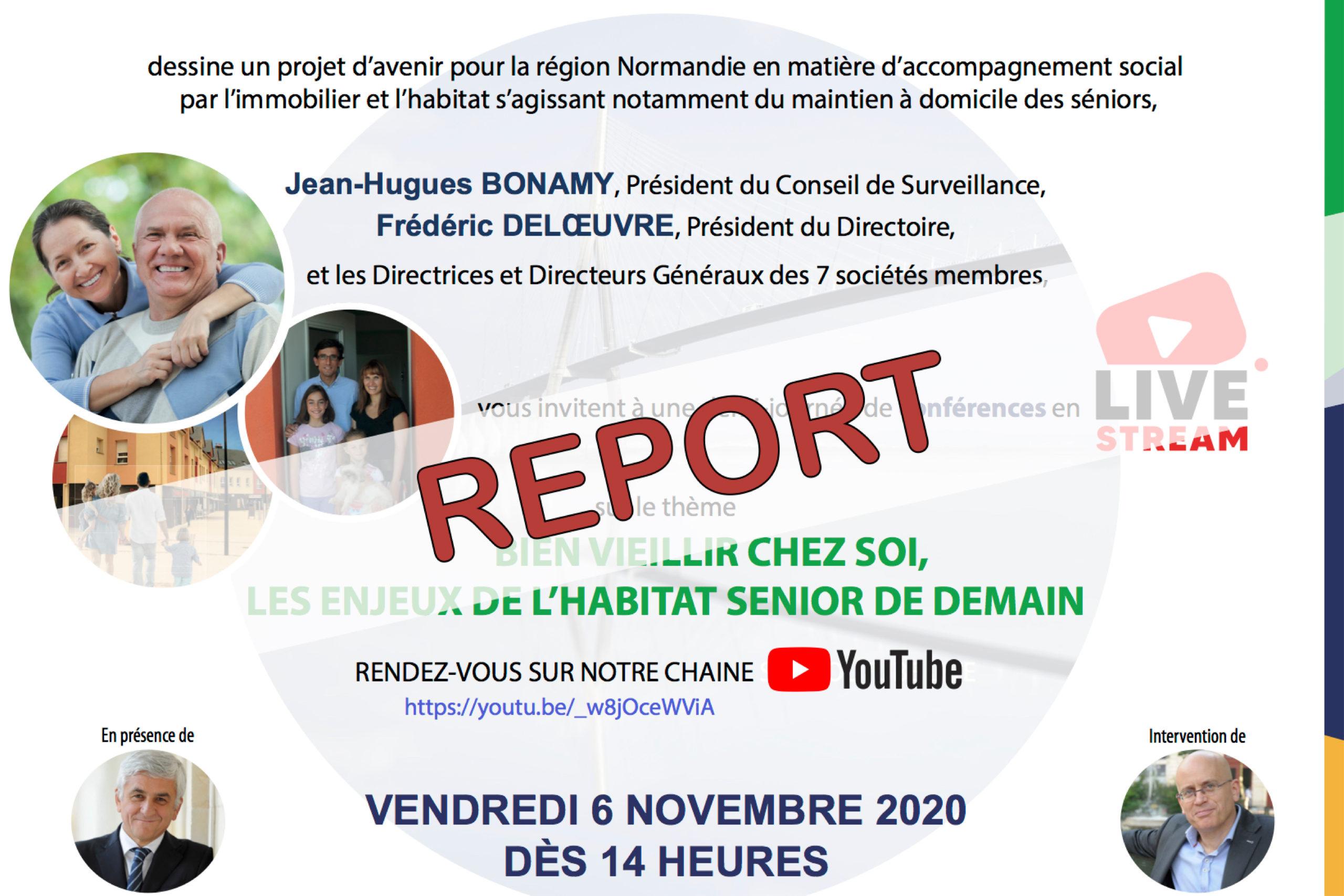 LIVE reporté