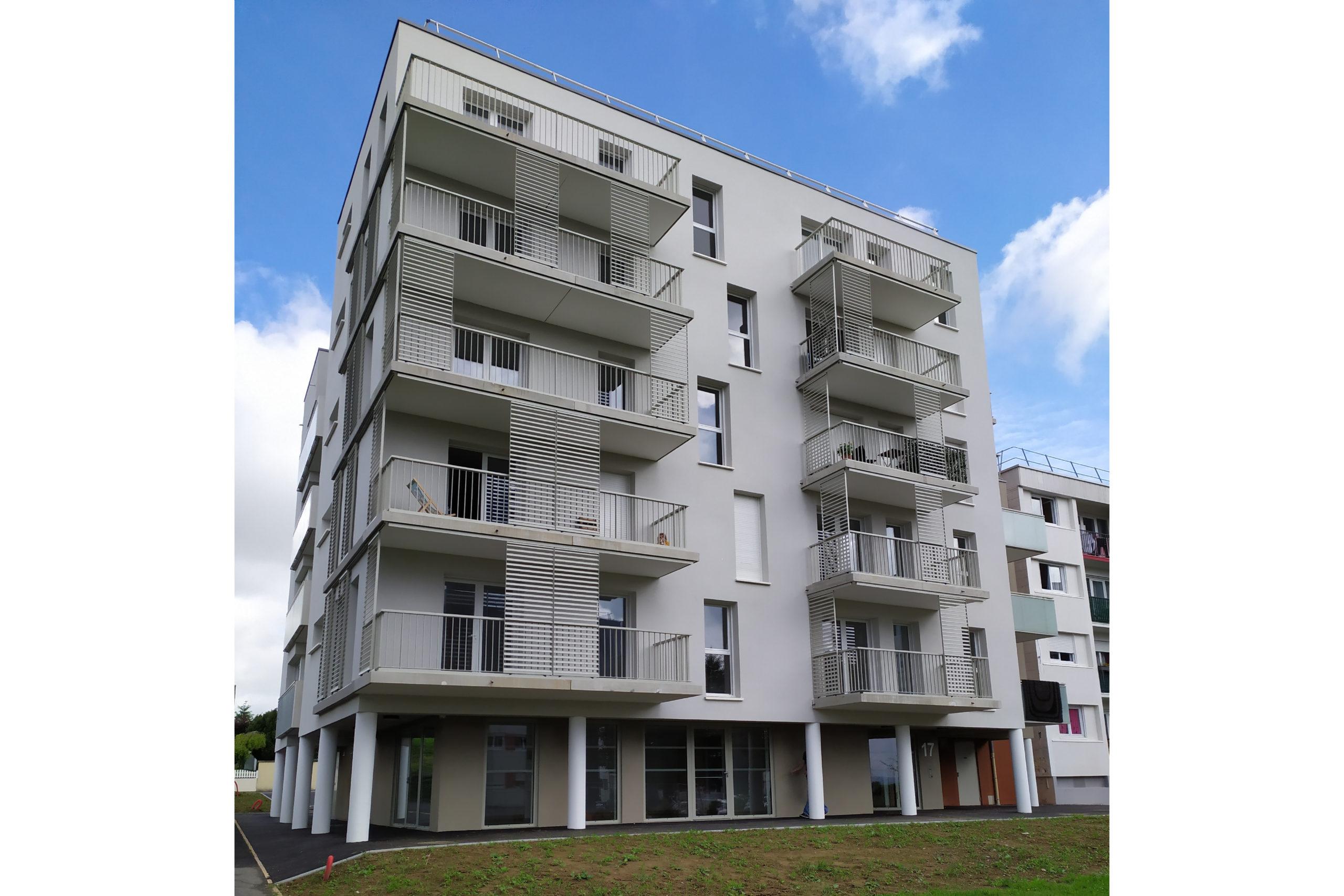 Inauguration de logements